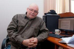 Алексей Гончаров - редактор службы новостей, ведущий авторских телепередач