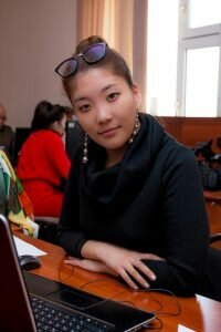 Дархан Нурымбетова - редактор службы новостей