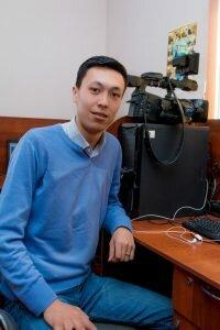 Рауль Габитов - журналист службы новостей