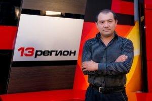 """Шакир Умаров - ведущий программы """"13 регион"""""""