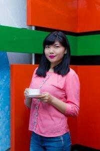 "Таншолпан Нышанбай - журналист службы новостей, ведущая программы ""Сәтті күн"""