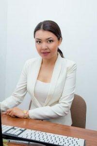 Нурзина Туреханова - диктор новостей