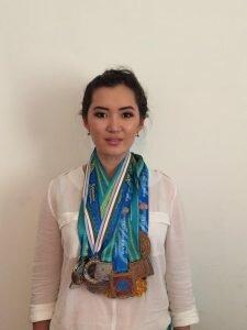 Куралай Сейдахметова - журналист, спортивный обозреватель