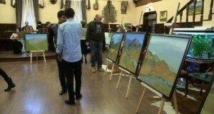 Любимые картины известной художницы представлены в кафе «Ингольштадт»