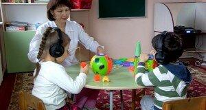 В Центре развития речи «Оркен», презентовали инновационный метод лечения