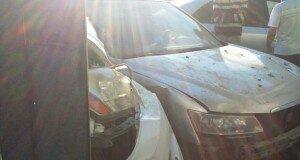 По словам очевидцев, автомобиль «Лексус» шел на высокой скорости
