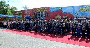 Жители Шымкента отметили День Победы