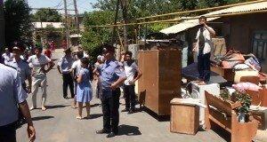 Выселение! Печальное событие на улице Рашидова